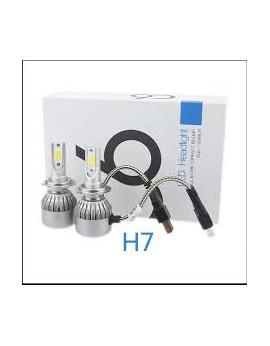 Pack C6 LED phare H7 + 2 veilleuses LED offertes