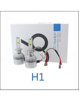 Pack C6 LED phare H1 + 2 veilleuses LED offertes